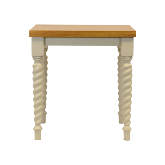 Barley Twist Dining Table Soft Oak Painted Legs 1