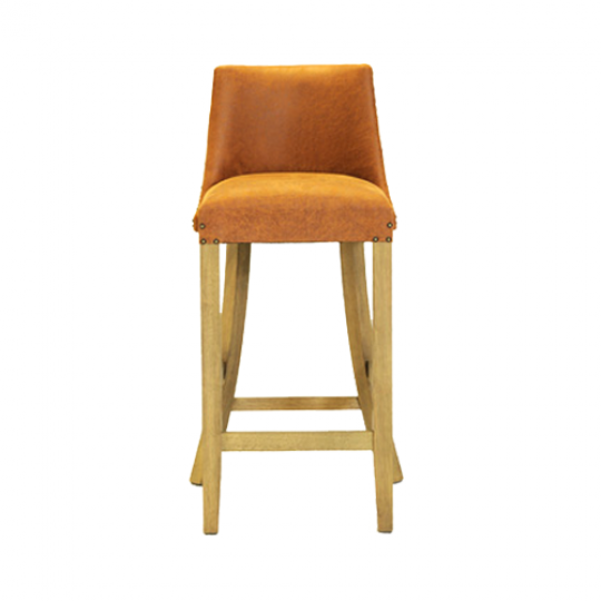 Warwick Mid Height Bar Chair Nevada Caramel Weathered Oak1