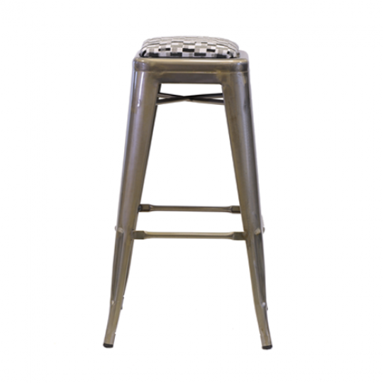 Xavier High Stool GMG Dash Black Grey 3
